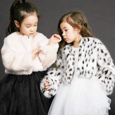 kids fur jacket