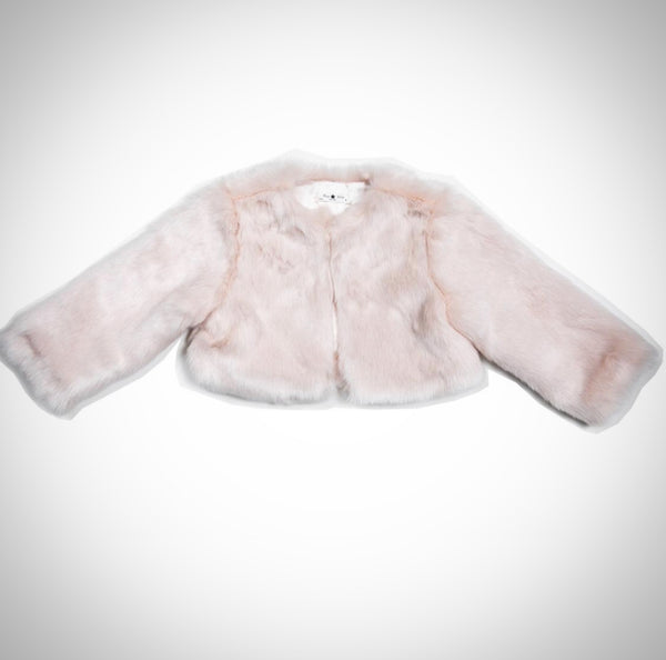 petite hailey fur jacket