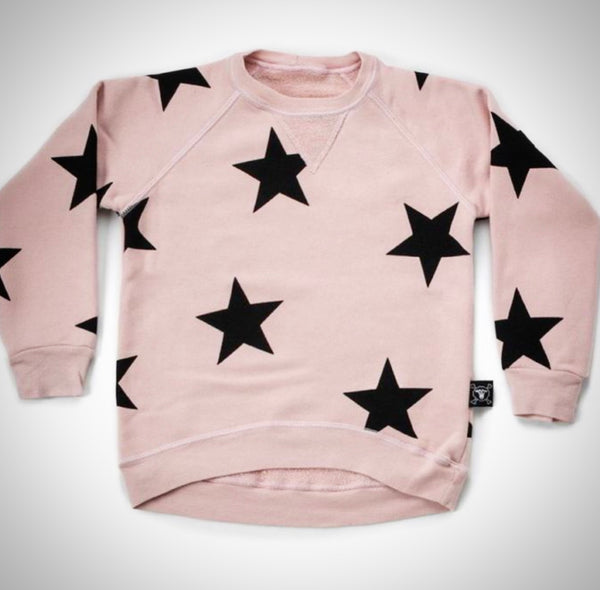 Star Sweatshirt - Pink