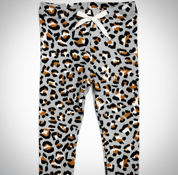 kids leopard leggings