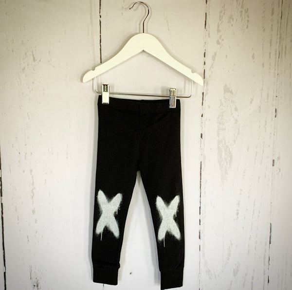 nununu sprayed x leggings
