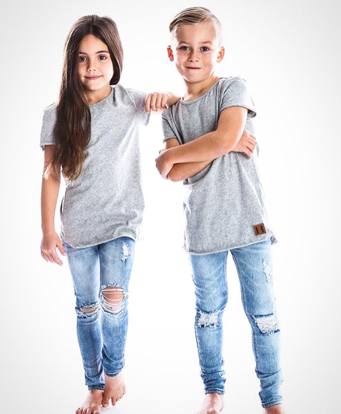 Raw Edge Tall Tee (Only 0-6m & 3Y Left)