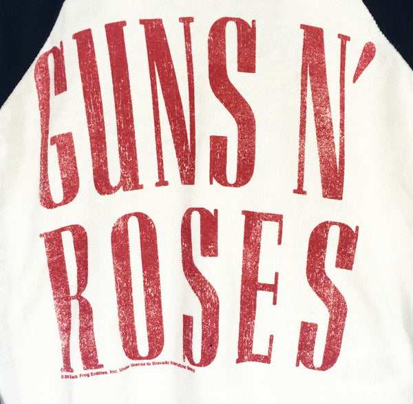 Guns N' Roses Raglan Tee - One Size Left (4T)