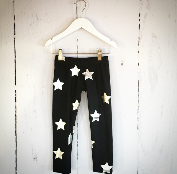 terez star foil leggings