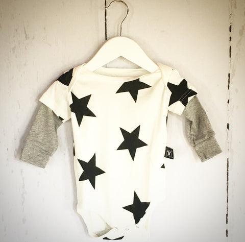 White Star Onesie