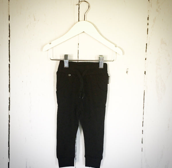 Black Baggy Harem Pants