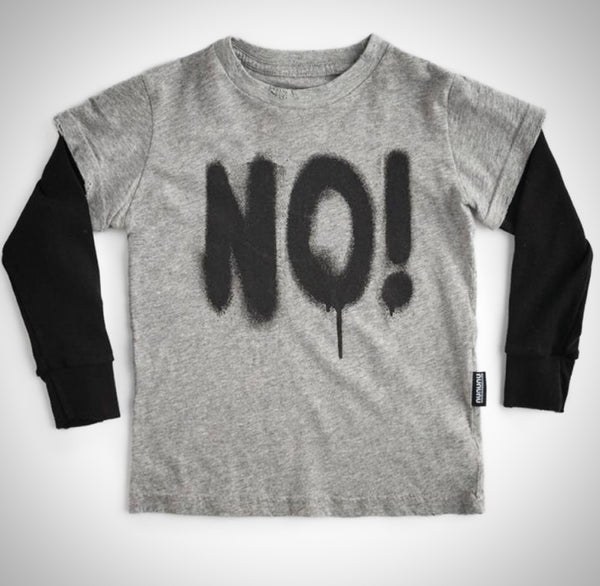 Nununu sprayed no! t-shirt
