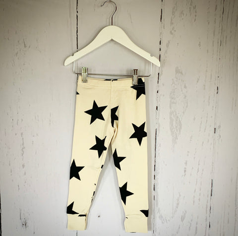 Star Leggings - Natural
