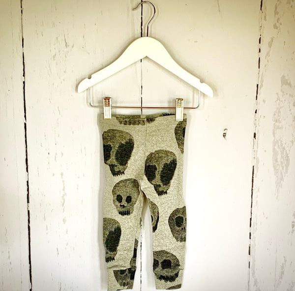 skull leggings nununu