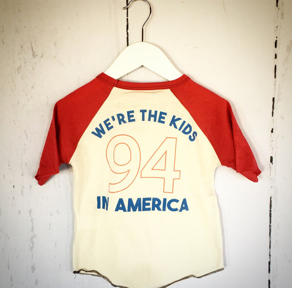 Kids In America Raglan Tee