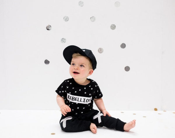 Rebellious Tee - One Size Left (2.5-4y)