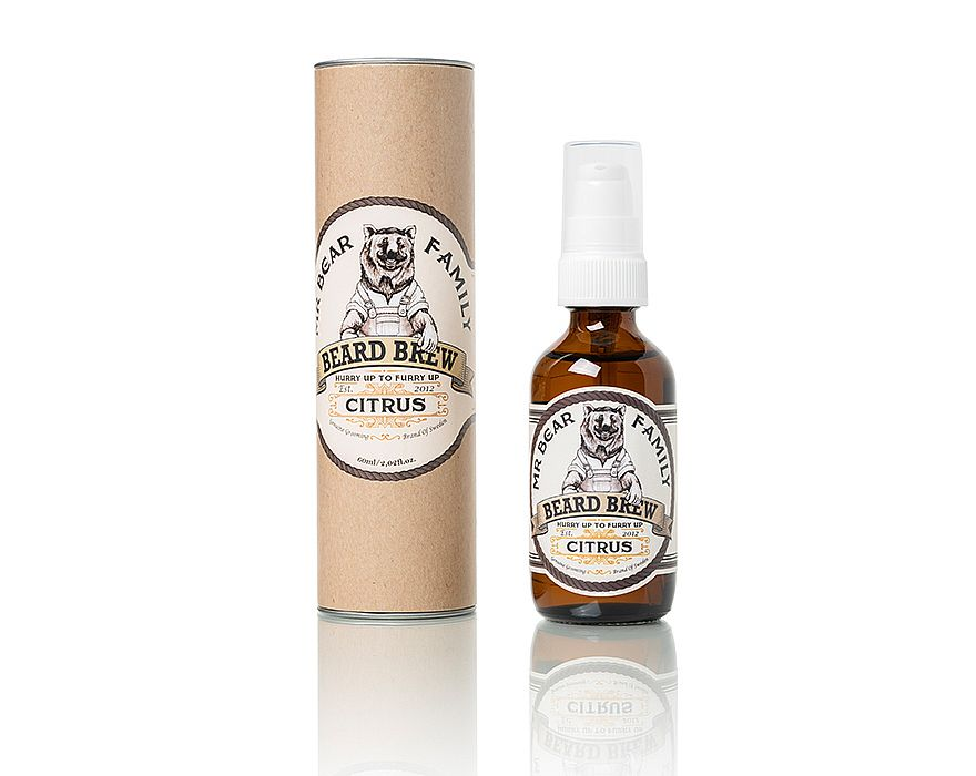 Mr. Bear Family - Beard Brew - Citrus - Skeggolía