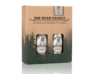Mr. Bear Family - Beard Brew & Shaper - Woodland- Skeggolía og næring