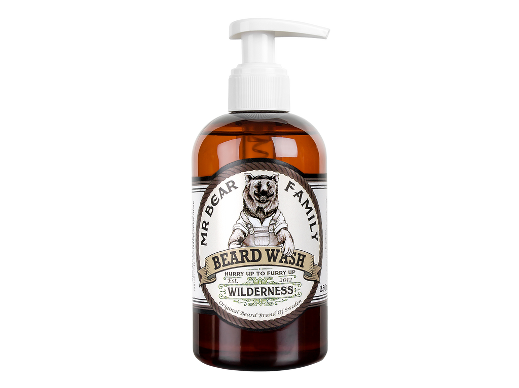 Mr Bear Family - Skeggsápa- Wilderness - Beard Wash