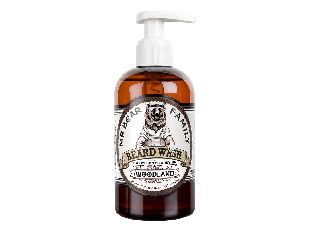 Mr. Bear Family - Beard Wash - Woodland - Skeggsápa
