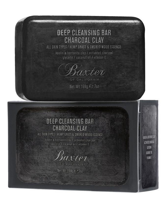 Baxter of California - Deep Cleansing Bar - Charcoal - Djúphreinsandi sápa