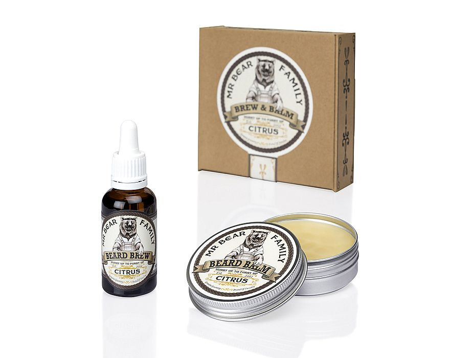 Mr. Bear Family - Brew & Balm - Citrus - Olía og næring