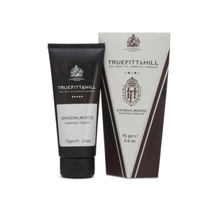 Truefitt & Hill - Shaving Cream Tube - Sandalwood - Raksápa í túpu
