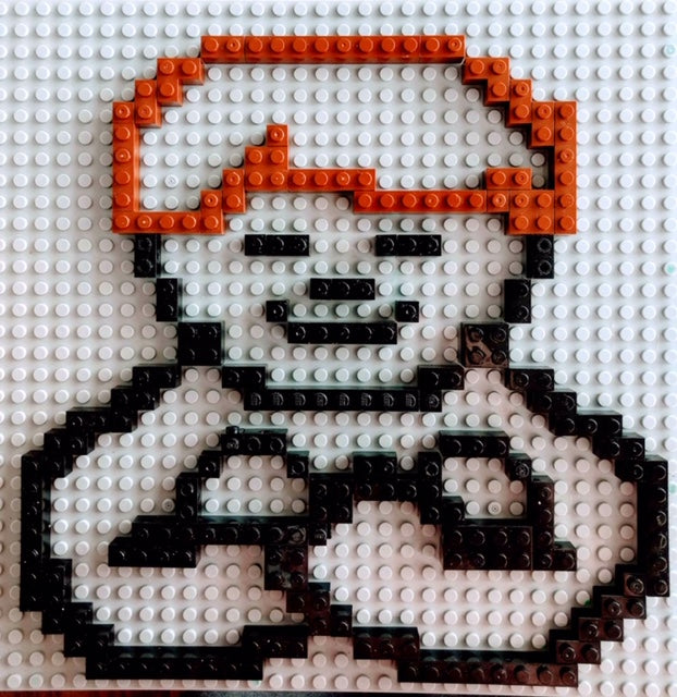 Boy Praying Pattern