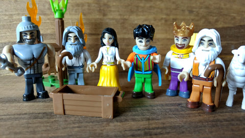 MINI-FIGURE Collection   6 Bible Figures