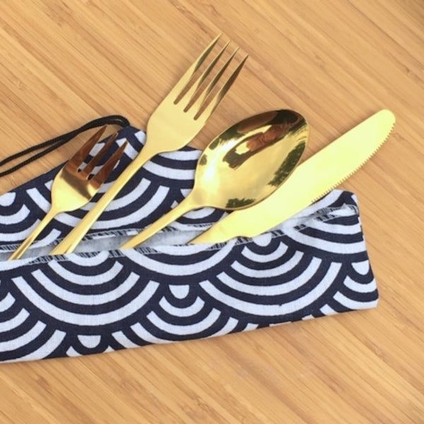 Eco Friendly Reusable Utensils - For travel or home!