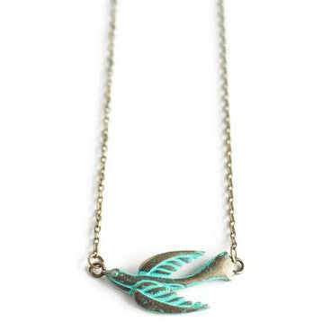 Flight Dainty Chain Necklace