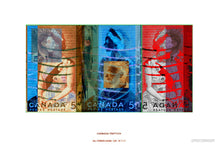 "Canadian Triptich and Diptich Fine Art ""Stamp Print Series"" on sale now $500.00 www.bernardboffi.com"