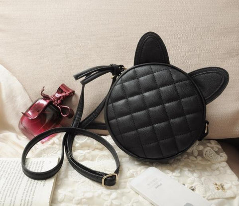 Cute and Fashion Cat Ears Crossbody Messenger Bag