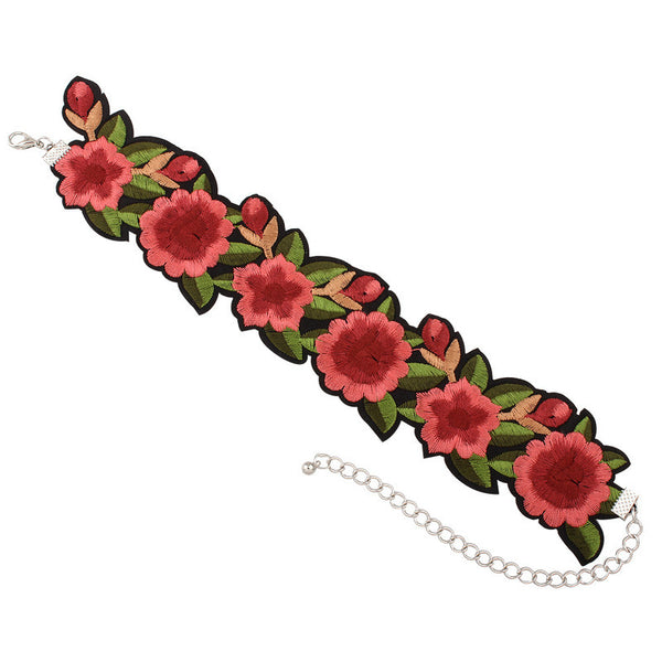 Sexy Floral Choker Necklace