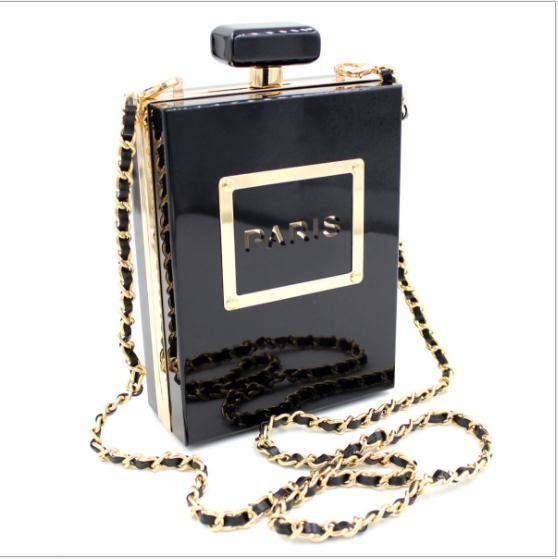 Fashion Paris Crossbody Perfume Bottle Bag - NenaBella