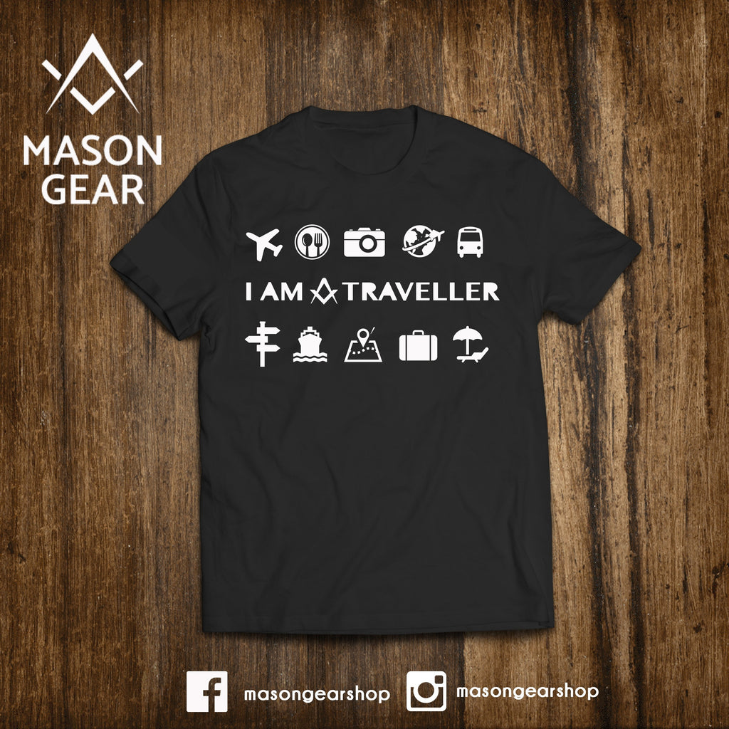 I am a Traveller  - tshirt - Mason Gear Shop