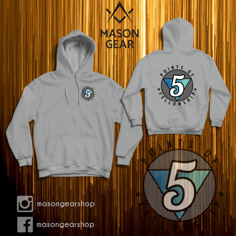 5 Points of fellowship - Hoodie