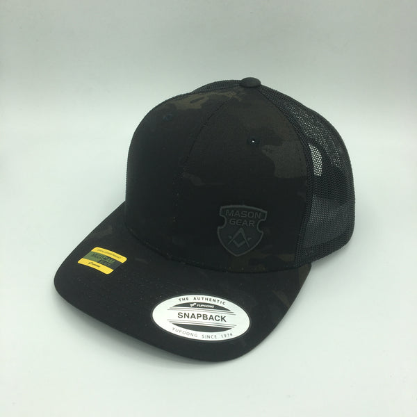 Multi Cam Black Camo caps