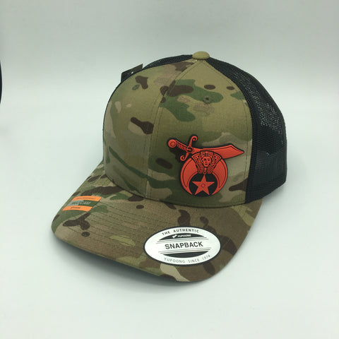 SHRINERS Camo caps