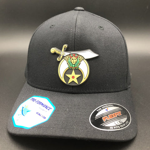 Rubberized SHRINERS Fitted Caps - Mason Gear Shop