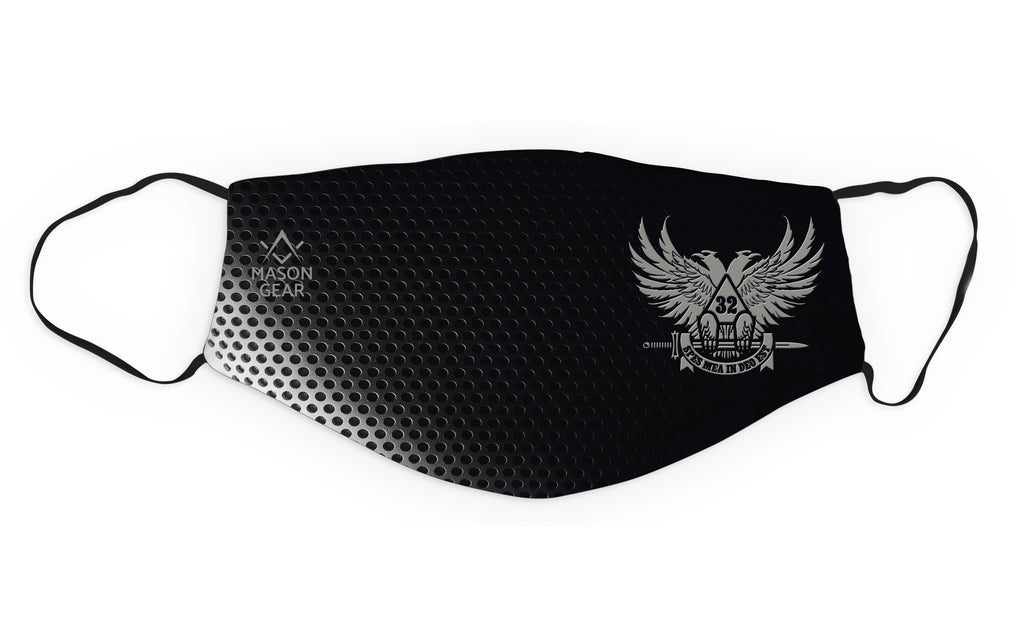 Scottish Rite wings up- Face cover