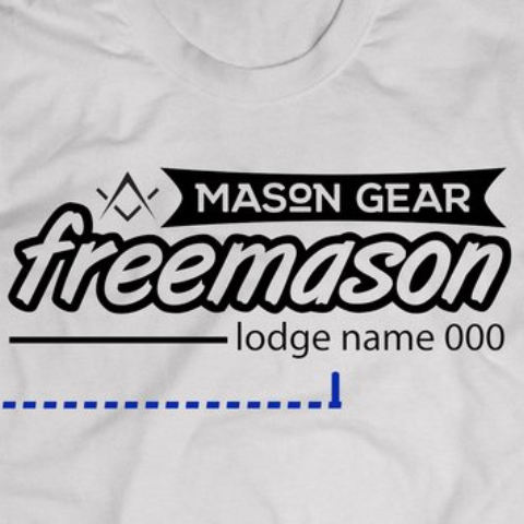 Custom Lodge & number- tshirt Band design - Mason Gear Shop