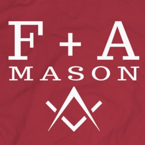 Free and Accepted Mason  - tshirt - Mason Gear Shop