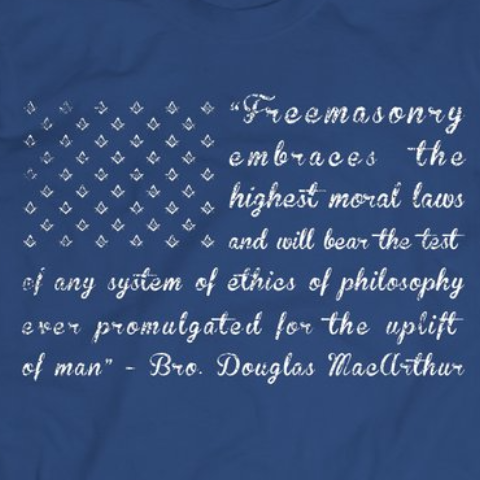 Freemason Flag  - tshirt - Mason Gear Shop
