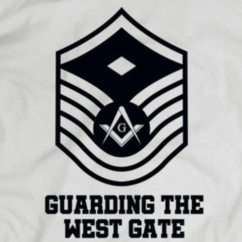 Guarding the West gate - Hoodie - Mason Gear Shop
