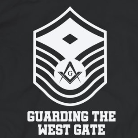 Guarding the West gate - tshirt - Mason Gear Shop