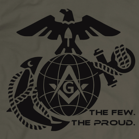 The Few. The Proud. - tshirt - Mason Gear Shop