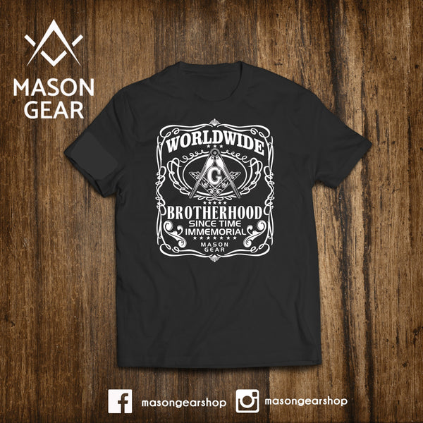 Worldwide Brotherhood  - tshirt - Mason Gear Shop