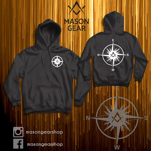 Freemasonry Compass- Hoodie - Mason Gear Shop