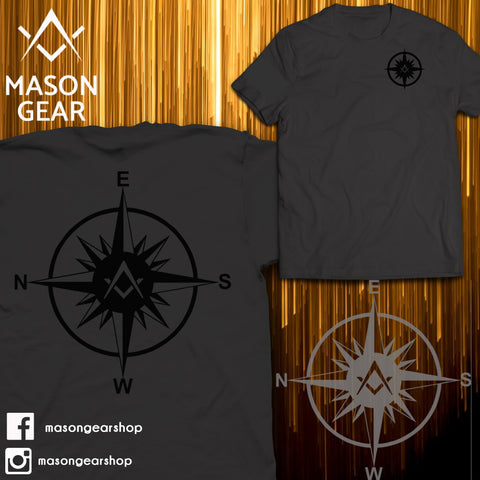 Freemasonry Compass- tshirt - Mason Gear Shop