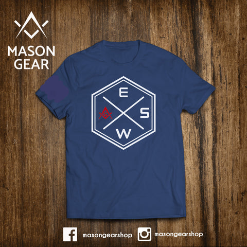 Moral Compass- tshirt - Mason Gear Shop