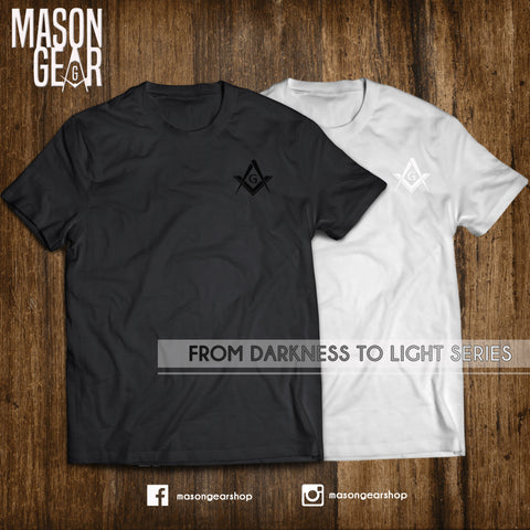 From Darkness to Light T-shirt- 1 SET - Mason Gear Shop