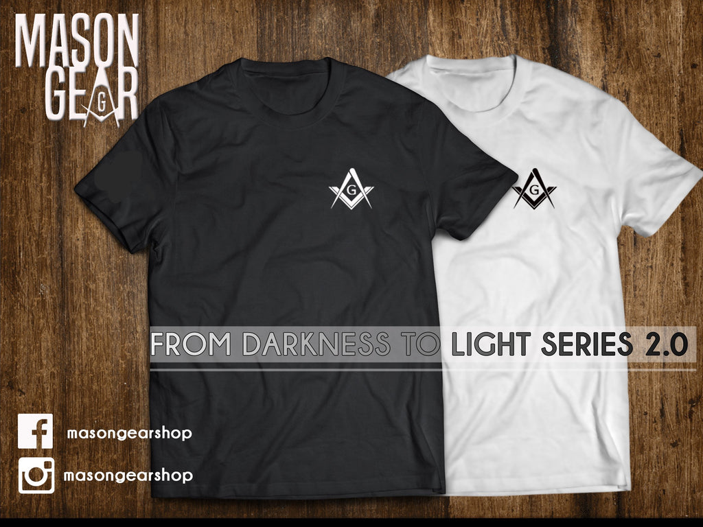 From Darkness to Light T-shirt 2.0 - 1 SET - Mason Gear Shop