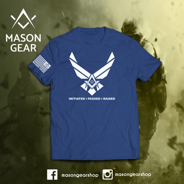 Initiated, Passed, Raised - tshirt - Mason Gear Shop