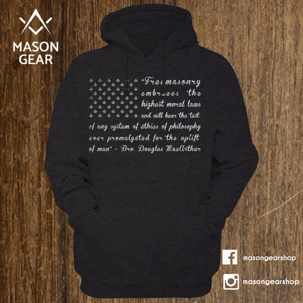 Freemason Flag - Hoodie - Mason Gear Shop